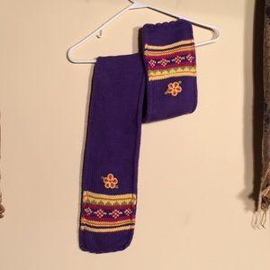 Hanna Andersson girls winter scarf